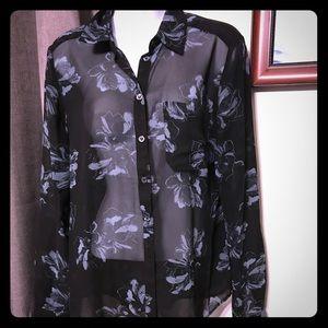 Premise button down blouse